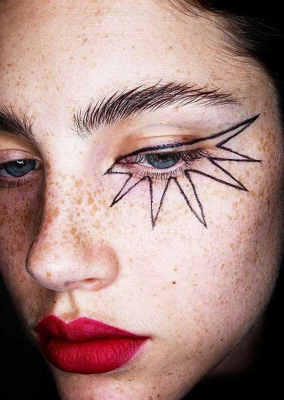 missguided makeup festival trends