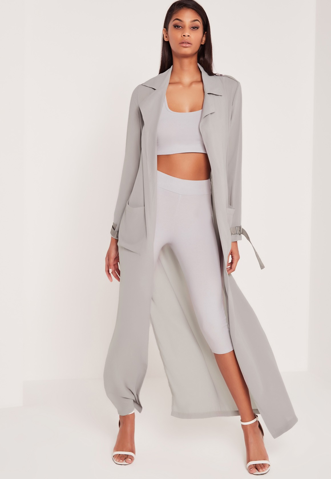 grey duster