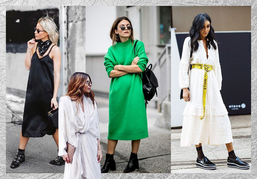 Missguided midi dresses inspo
