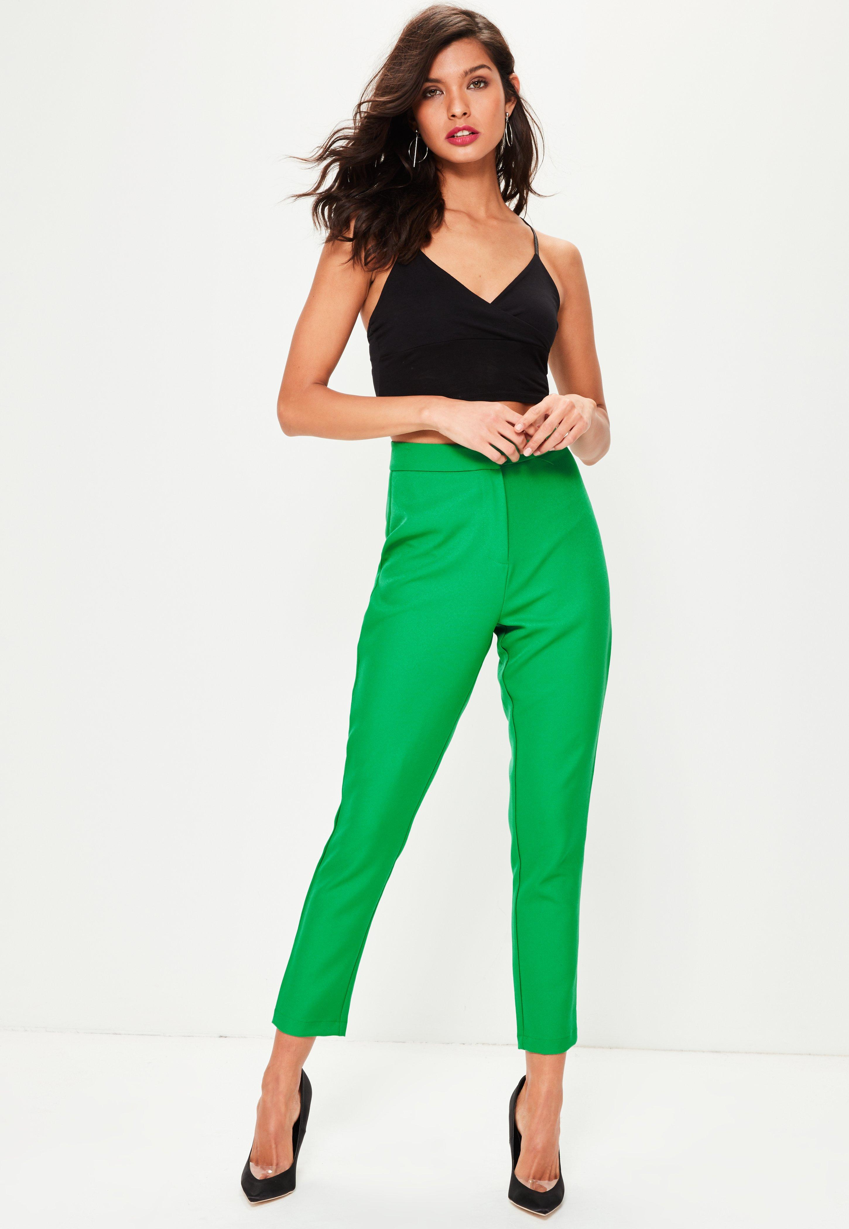 Green Tailored Trouser