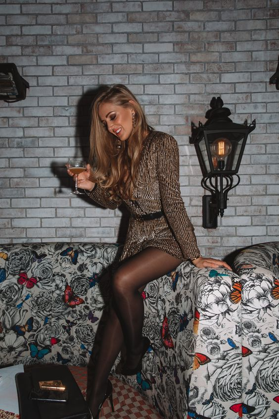 missguided sequins dress christmas party