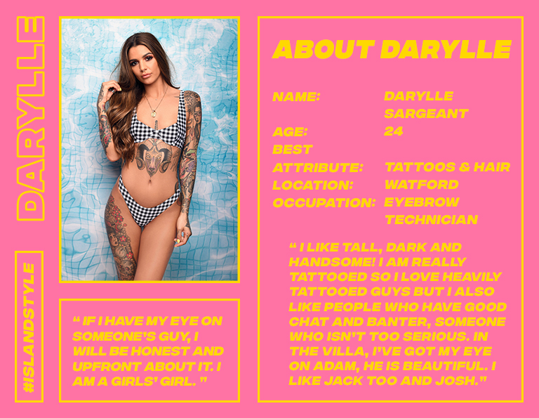 darylle love island style missguided
