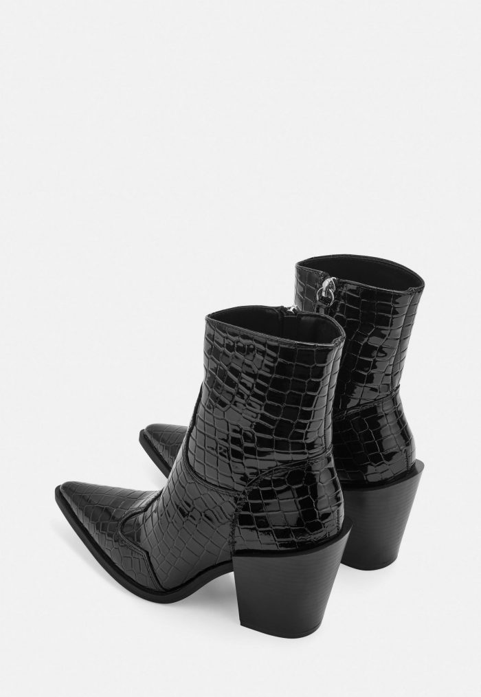 Croc western boots