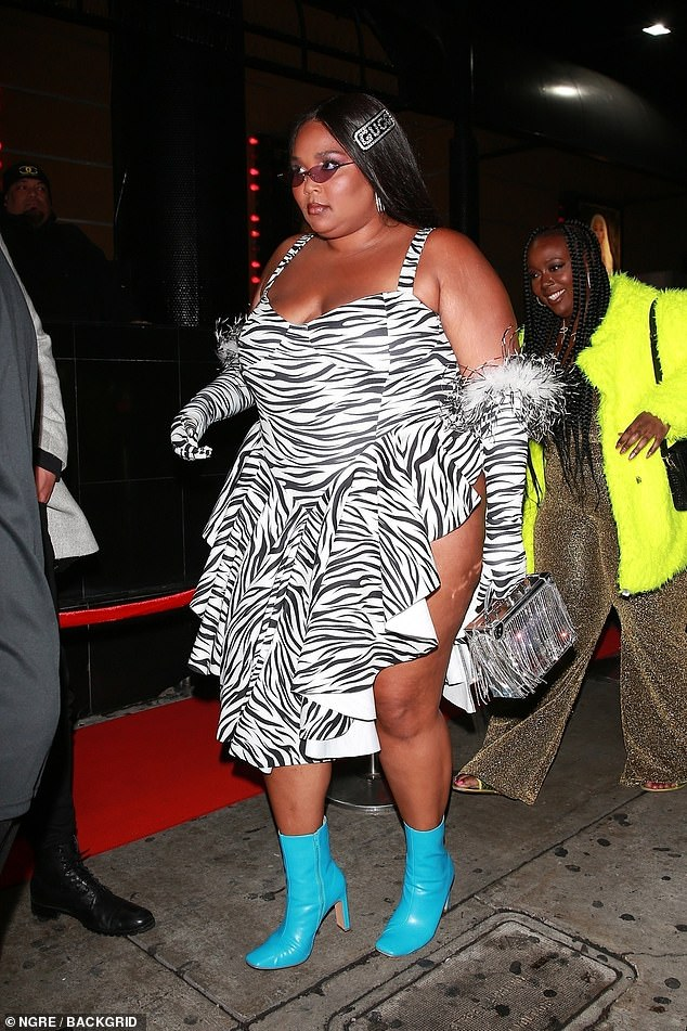 Lizzo grammys outfit afterparty