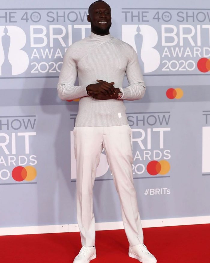 Stormzy Brits Red Carpet