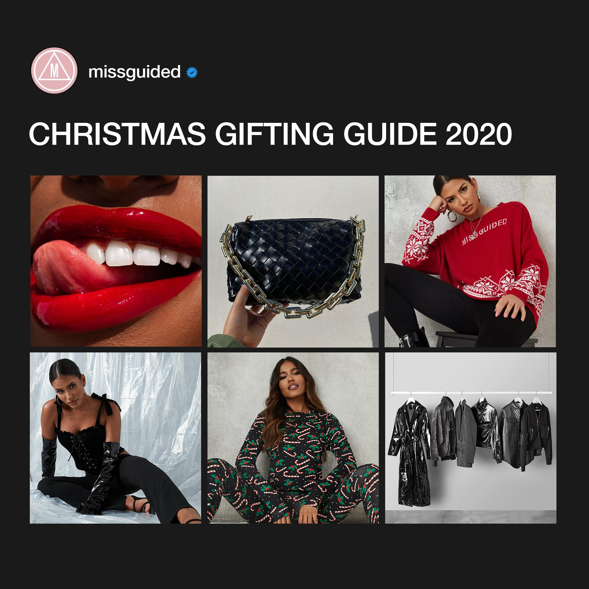 Grid of christmas gift guide