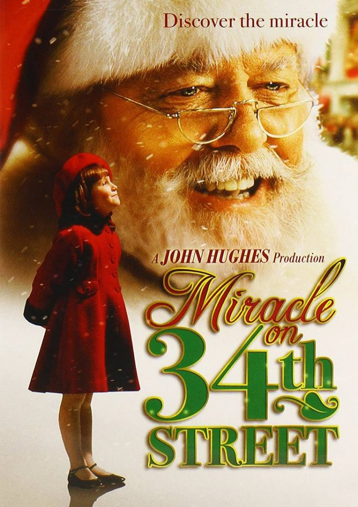 a miracle on 34th street Christmas films