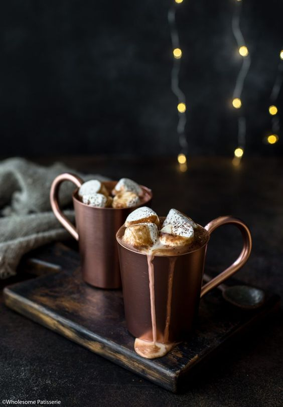 Naughty hot chocolate Christmas cocktails Missguided