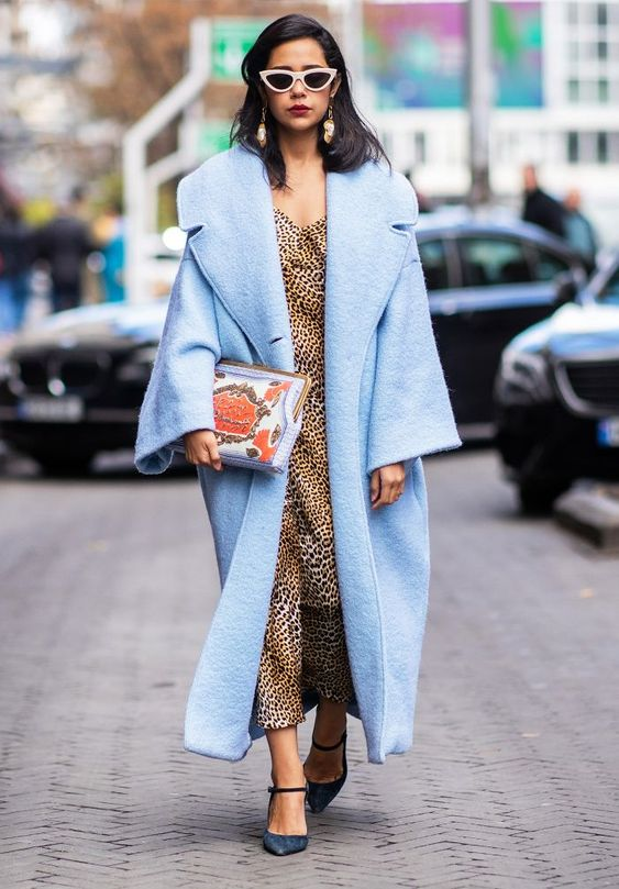 blue pastel maxi coat missguided 2021 trend predictions