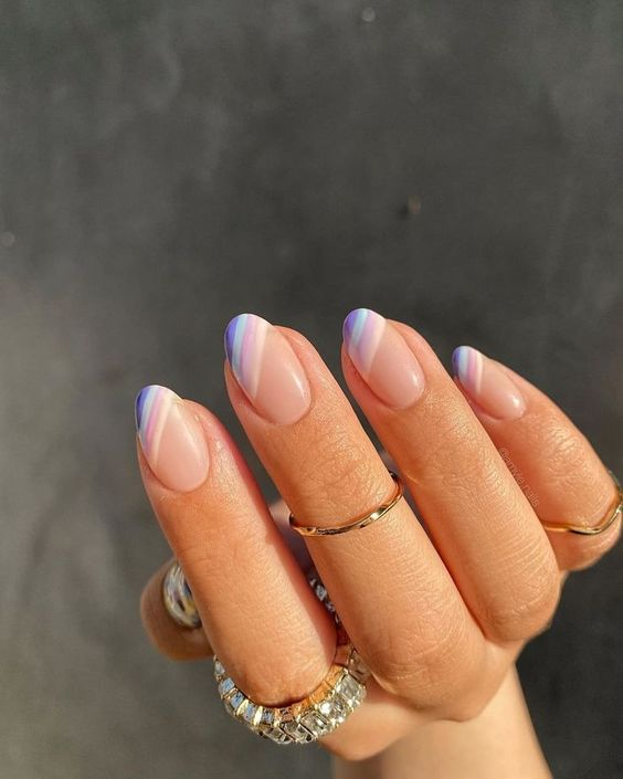 nail art trends pastel rainbow nails missguided