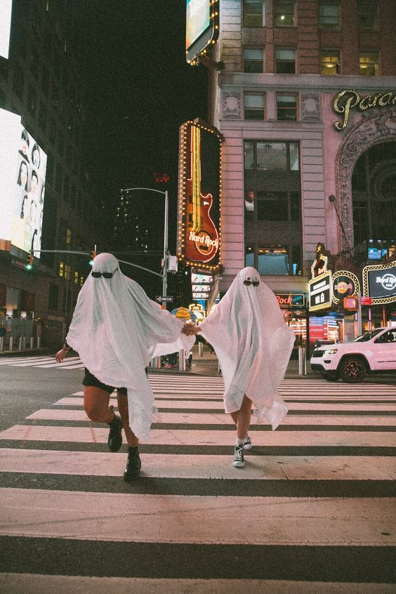 love language ghost running through new york ghost trend missguided