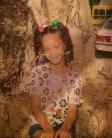 rihanna as a kid