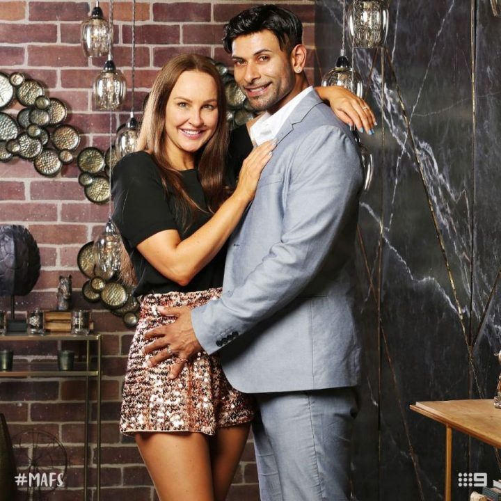 MELISSA LUCARELLI AND DINO HIRA married at first sight australia