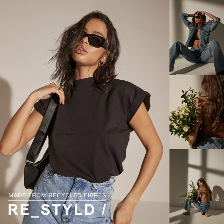 Re_STYLD collection made from recycled fibres