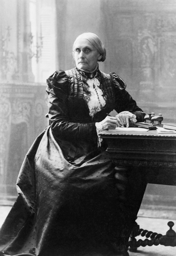 Susan B. anthony missguided women who made it possible for you