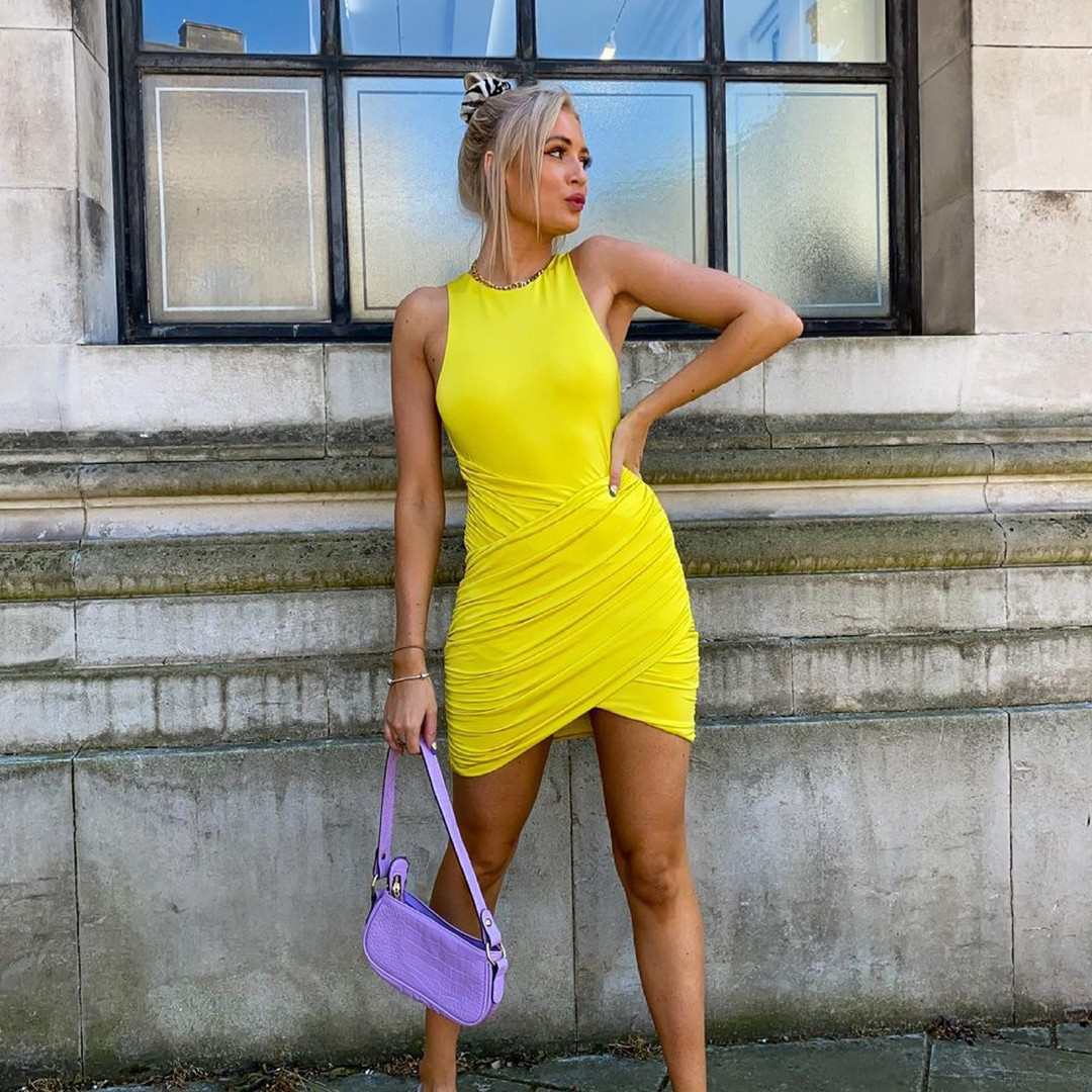 yellow dresses for spring