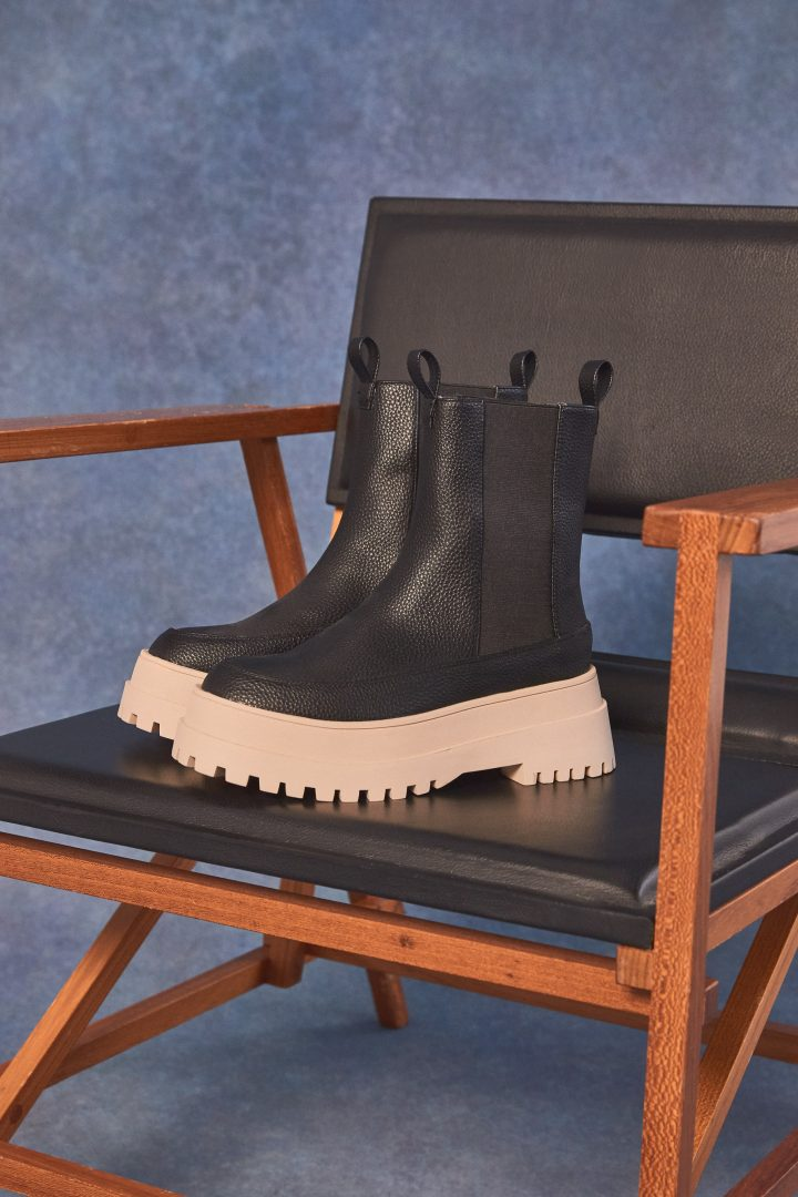 missguided black winter boots