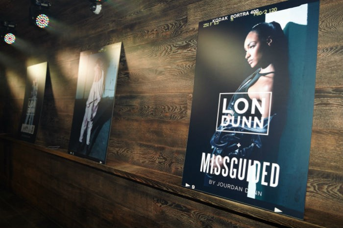 jourdan dunn party missguided