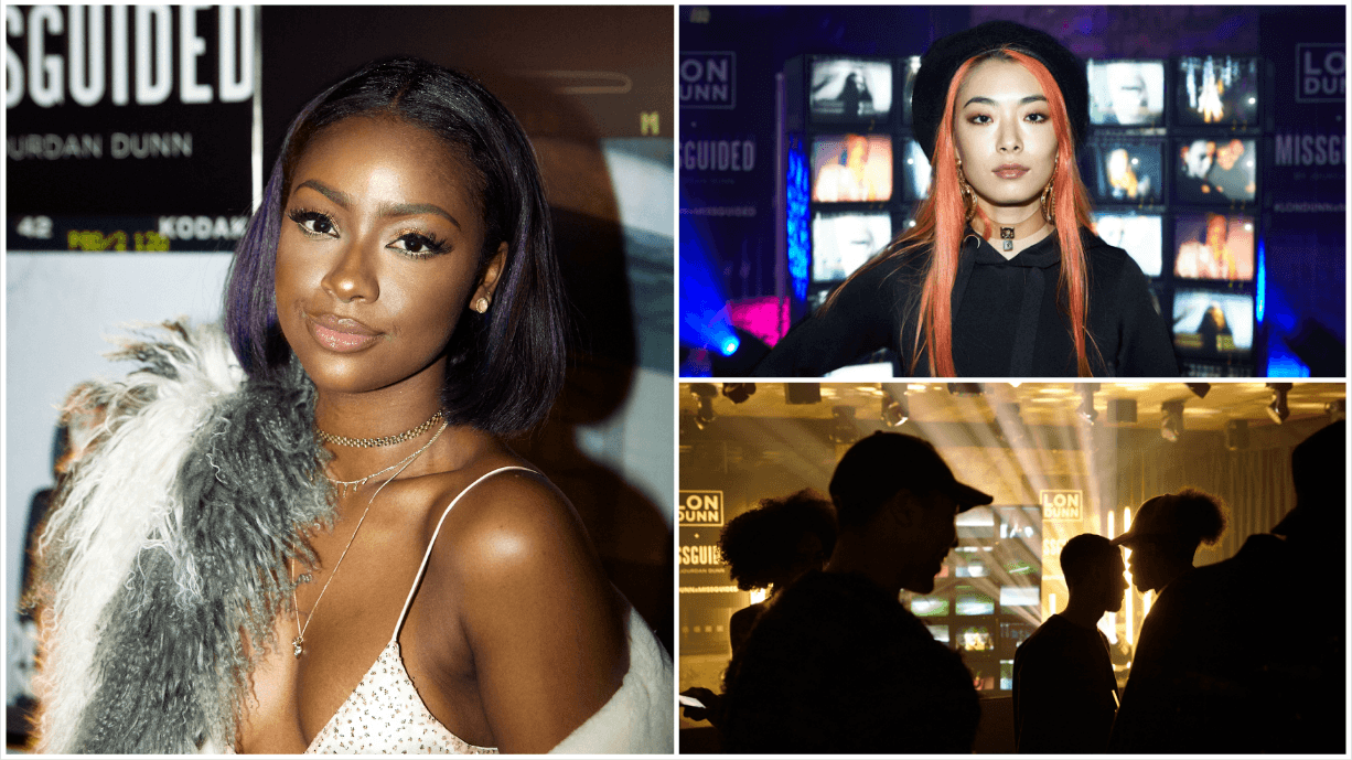 jourdcan dunn party launch