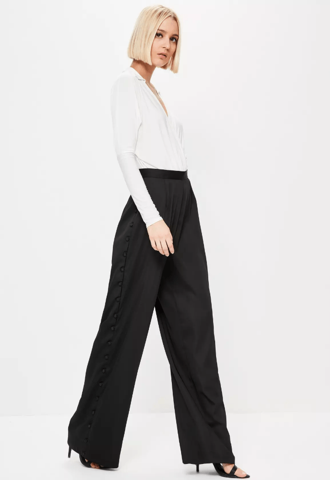 black popper trousers