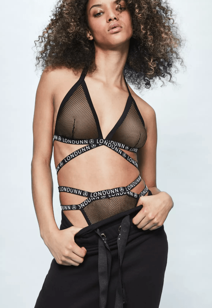 triangle mesh bra