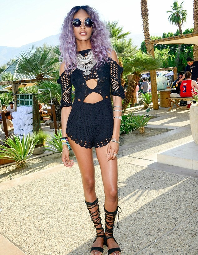 jourdan dunn purple hair