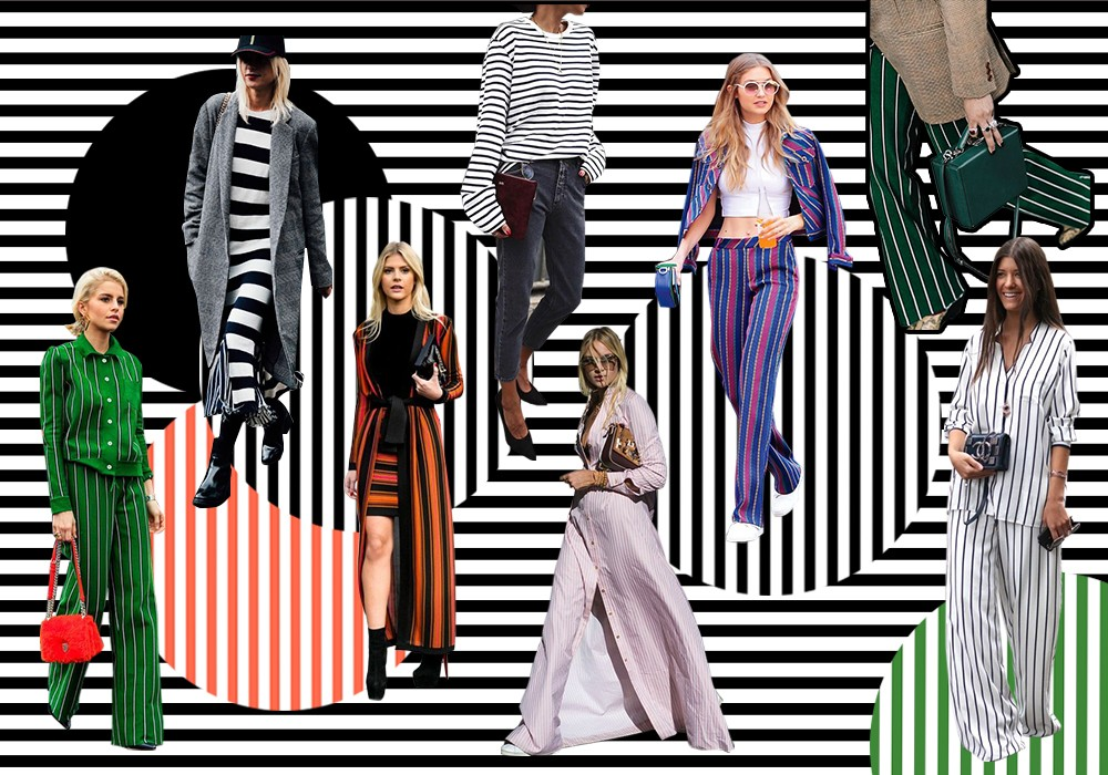 stripes fashion trend 2018