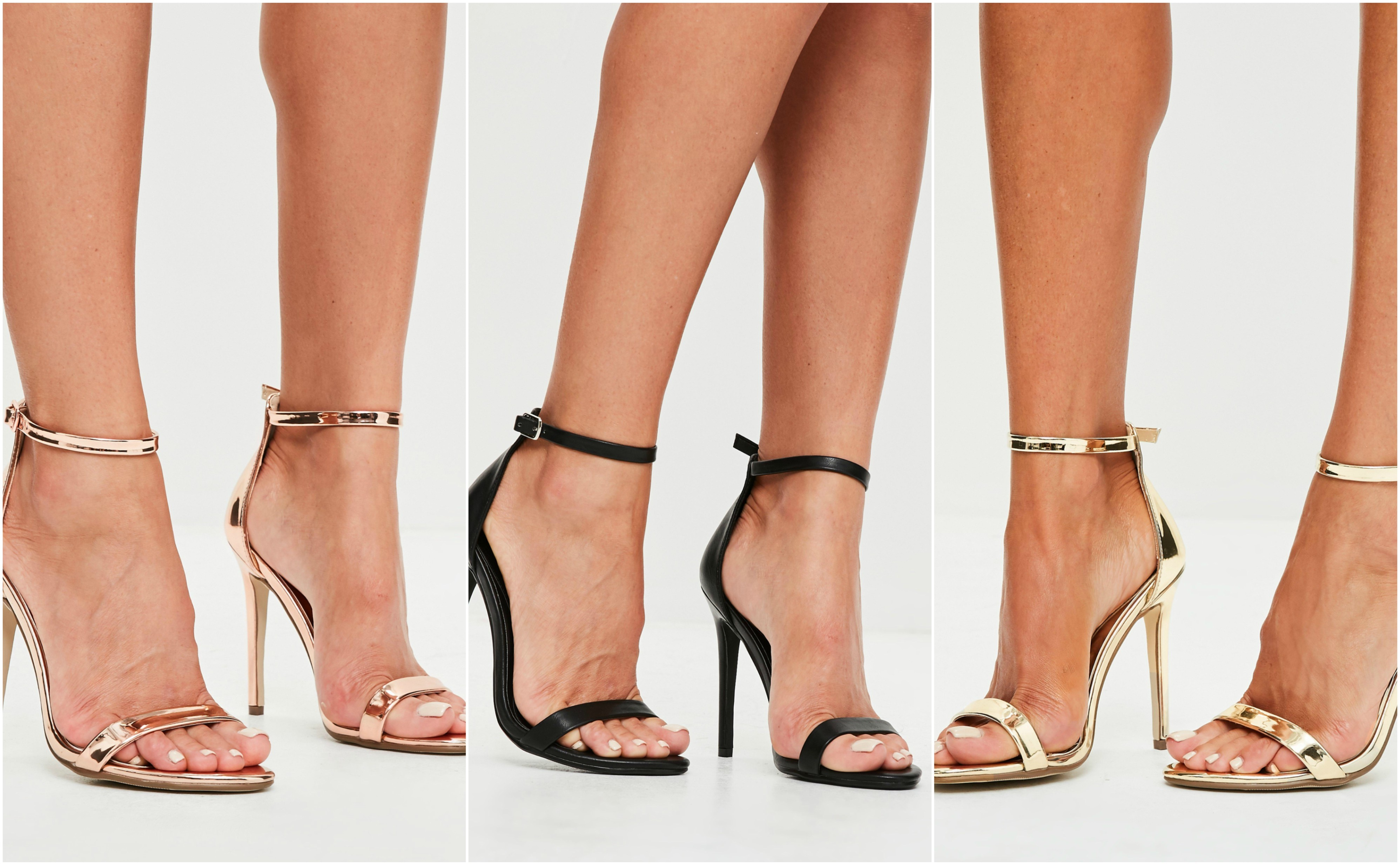 Missguided Barely There sandals