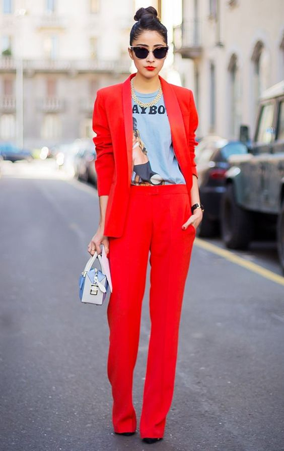 Red CO-ORD