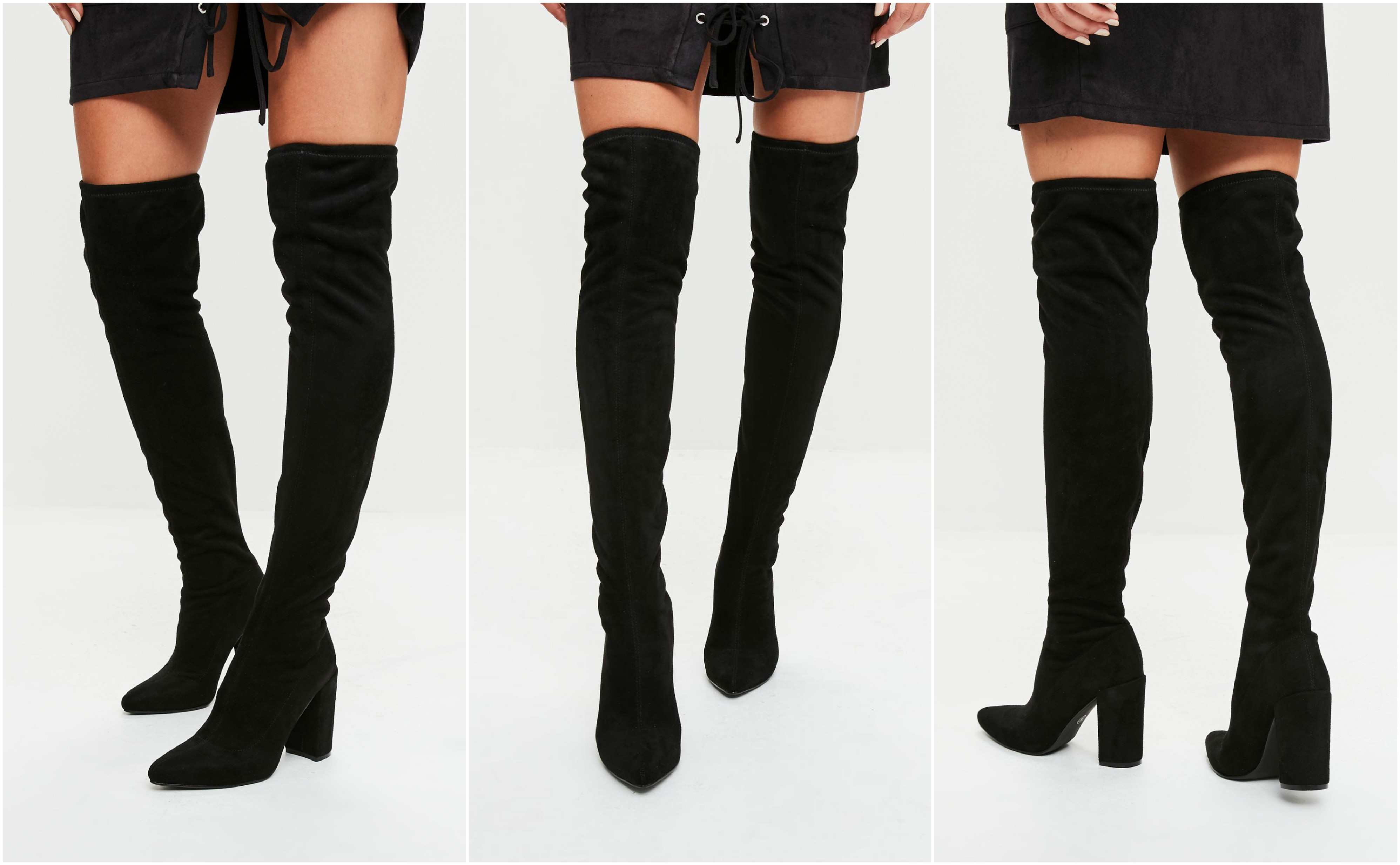 Missguided Outlet Over the knee boots