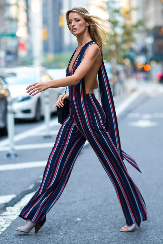 Missguided Jumpsuits stripes