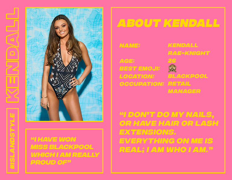 missguided kendall love island profile