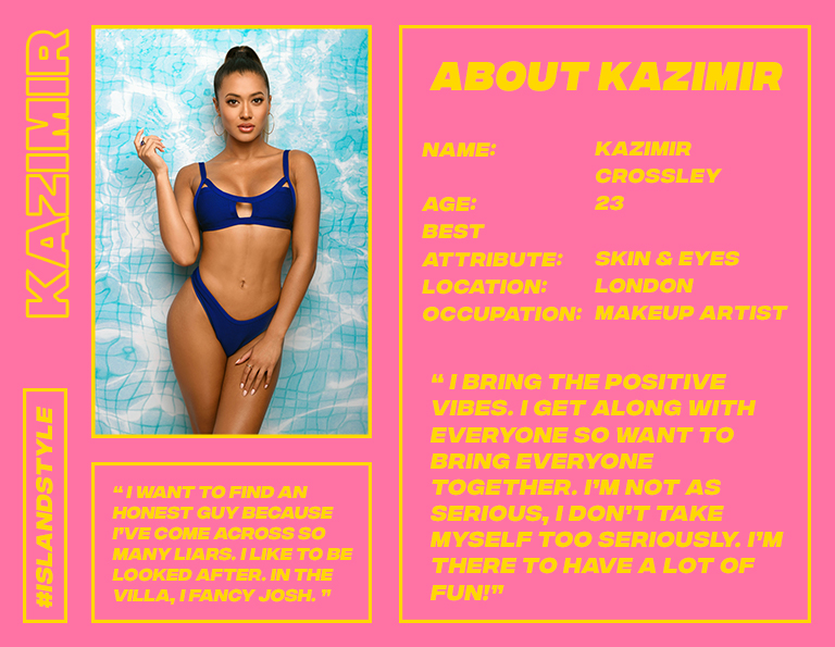 kazimir love island style missguided