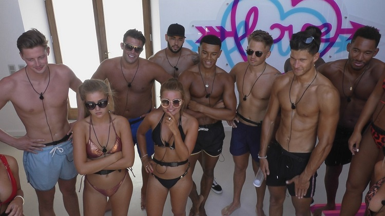love island girls and boys