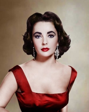 elizabeth taylor eyebrows