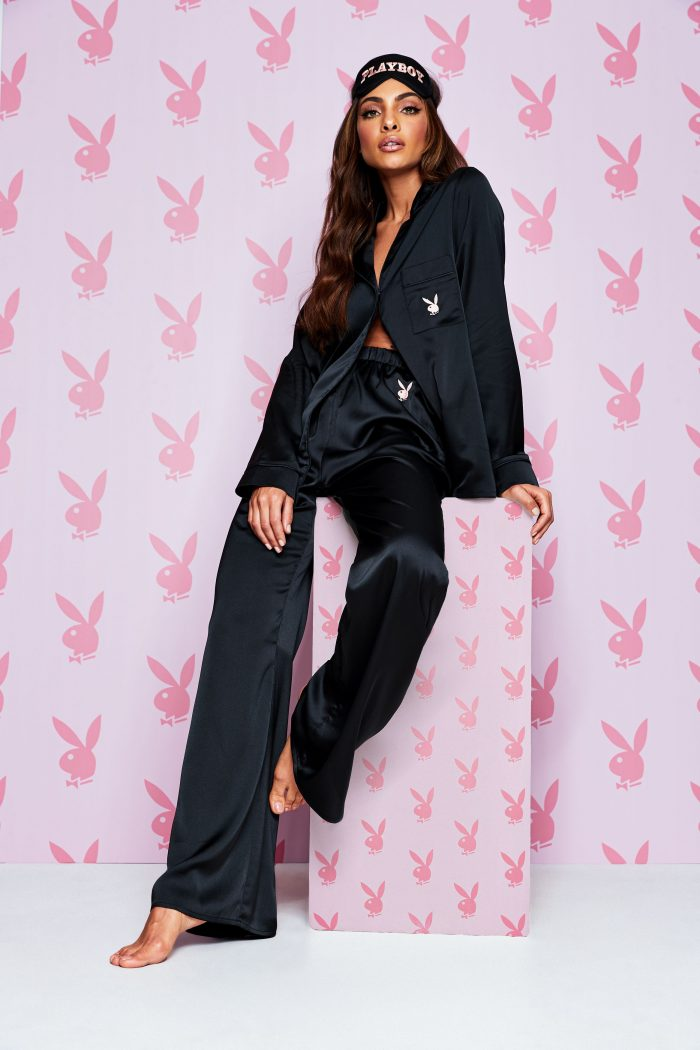 Playboy black pjs