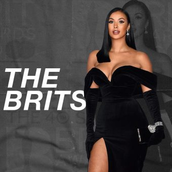 Maya Jama at the brits