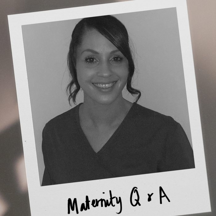 Midwife Q+A maternity